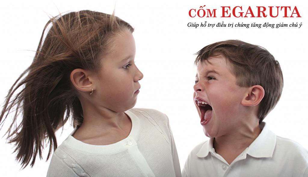Trẻ tăng động rất dễ nổi cáu, tức giận